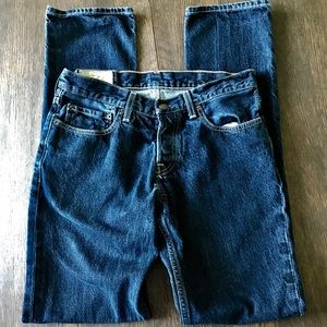 Hollister Classic Straight Leg Button Fly Jeans